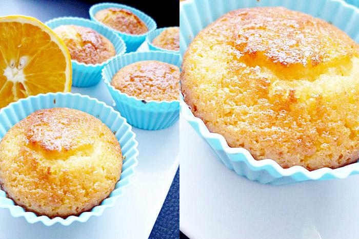 Orangen-Cointreau Muffins