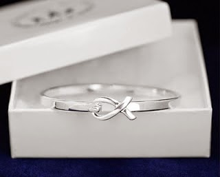 Silver Tiffany Bangle