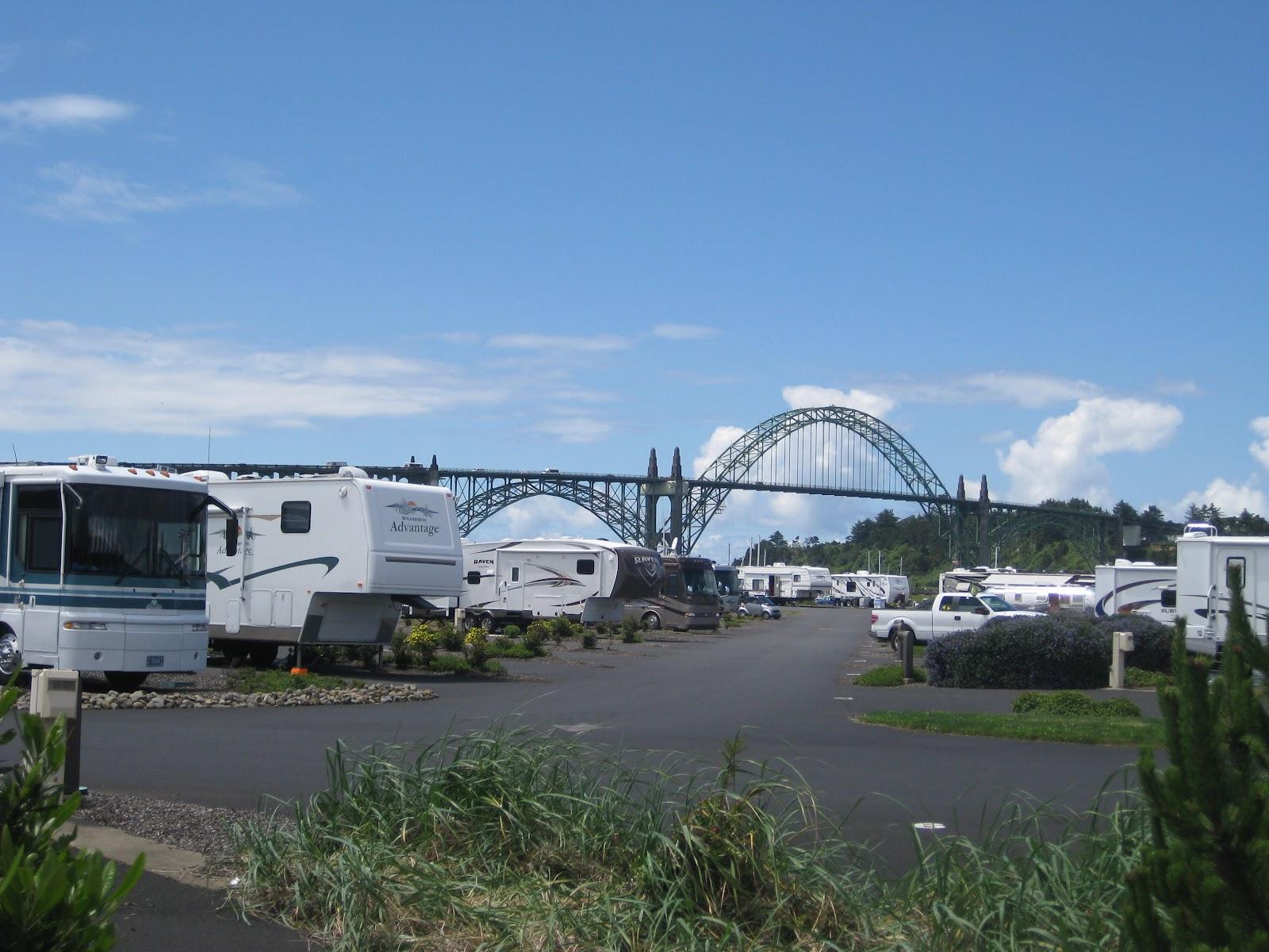 Campgroundcrazy Port Of Newport Rv Park Amp Marina Newport