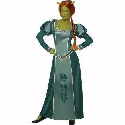 Disfraz Princesa Fiona de Shrek