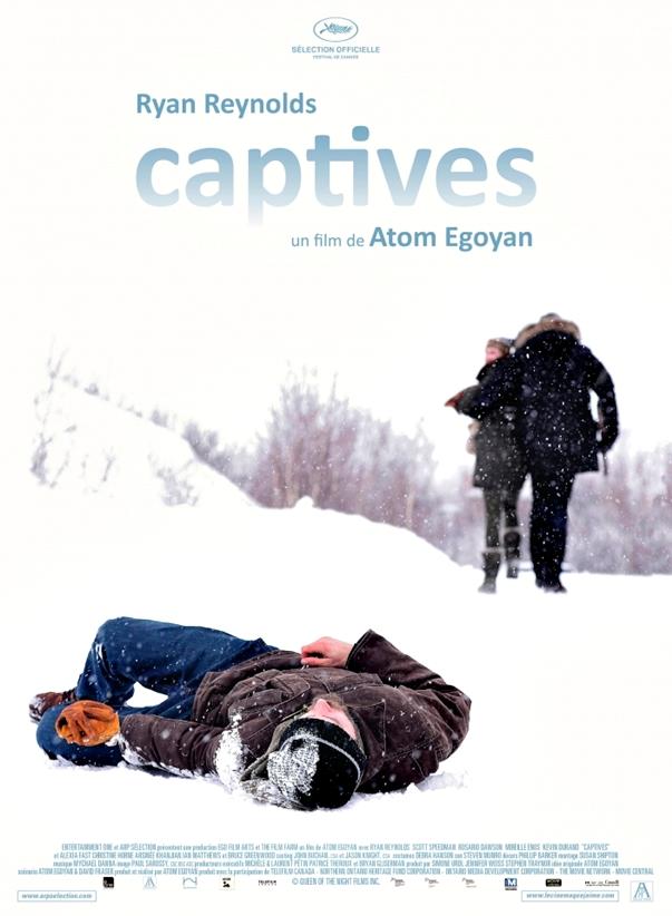 Póster Captives, de Atom Egoyan