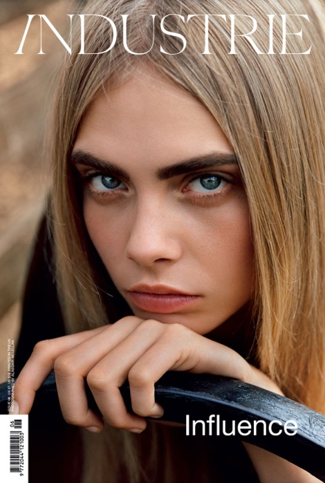 Cara Delevingne Covers Industrie Magazine #6