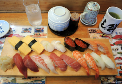 Gastronomía en Tokio