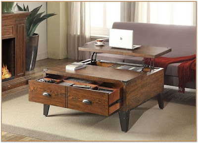 lift top coffee table walmart