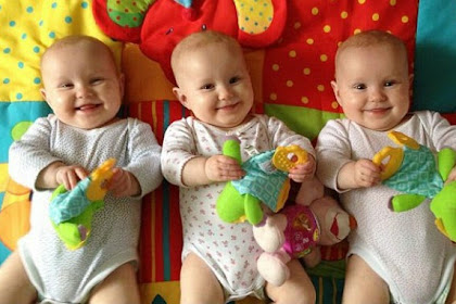 Bingung, Ibu Bayi Kembar Tiga Warnai Kuku Sebagai Identitas