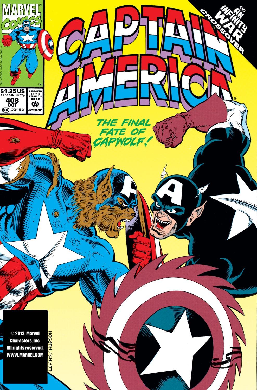 Captain America (1968) Issue #408 #357 - English 1