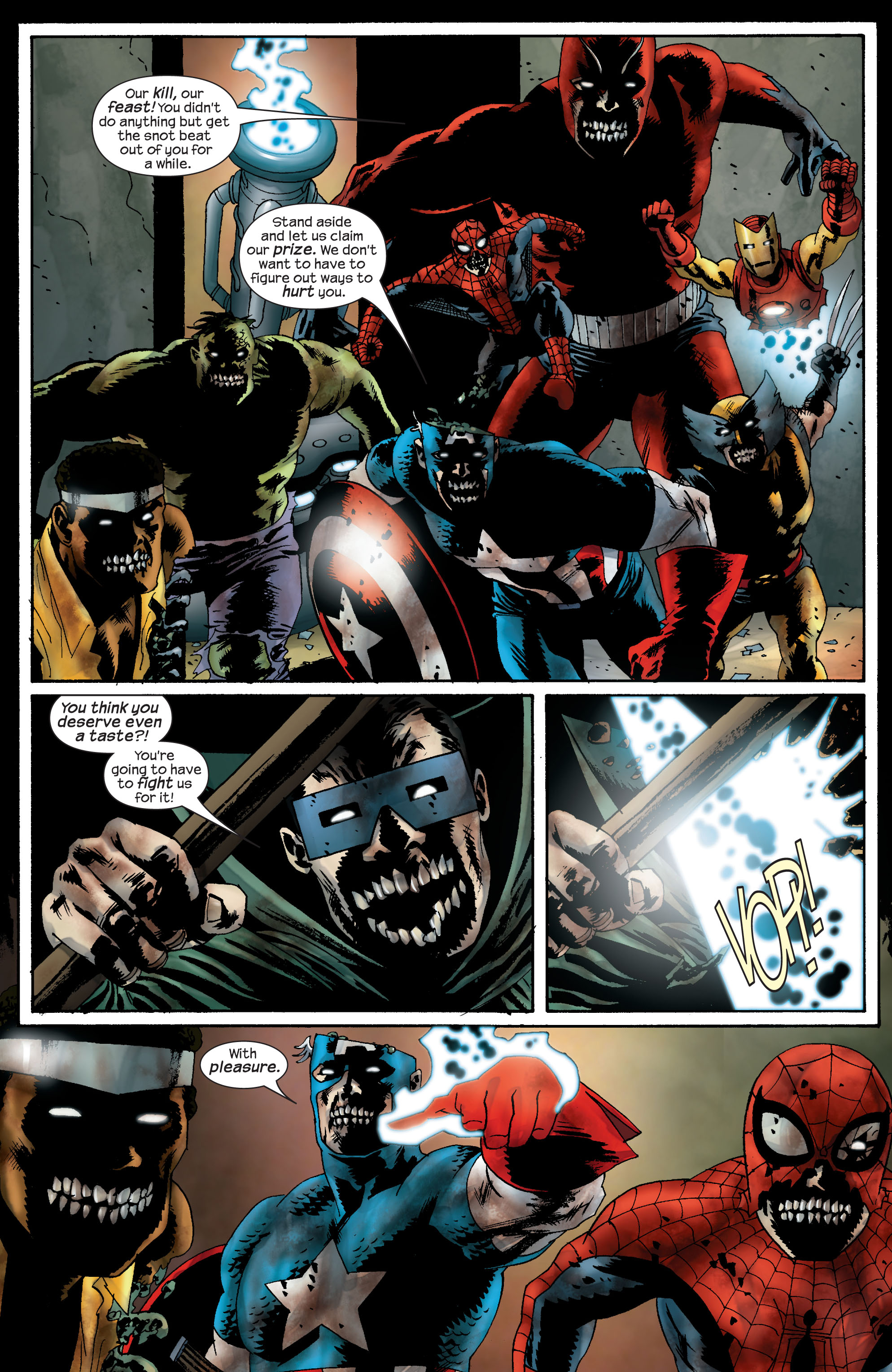 Marvel Zombies (2006) Issue #5 #5 - English 5