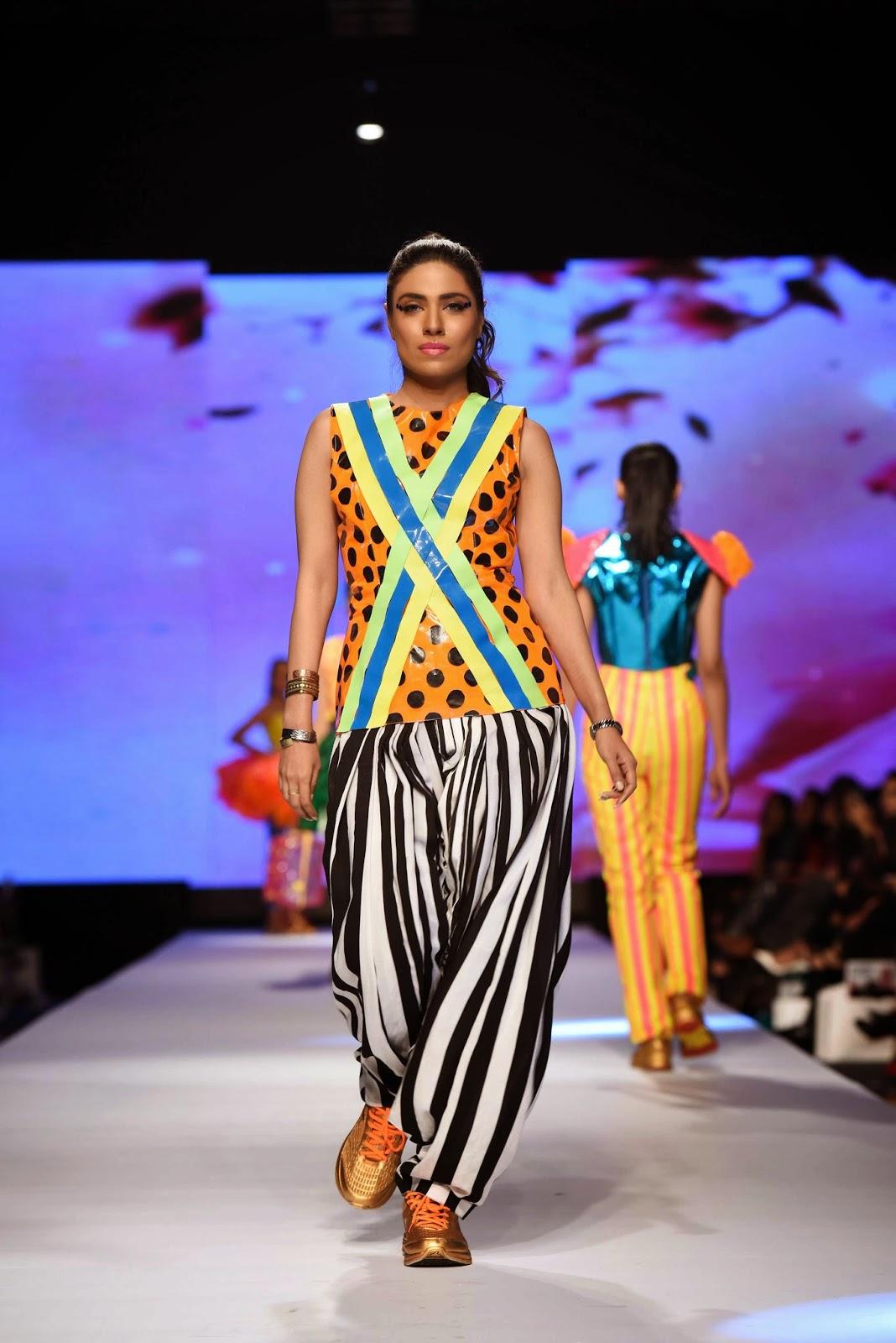 Shehza Azhar Telenor Fashion Pakistan Week 2015 Day 1