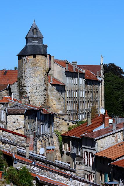 La chateau, tour de l'Horloge à Bar-le-Duc