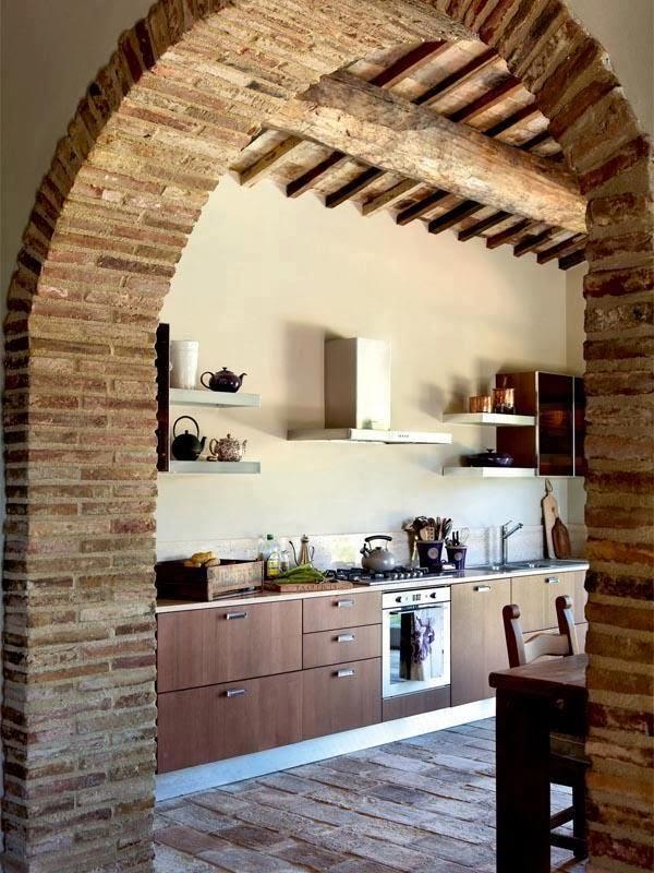 Case di lusso i mattoni a vista come trattarli all 39 interno di una abitazione - Mattoni a vista per interni ...