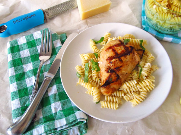 Easy Lemon and Basil Marinated Grilled Chicken