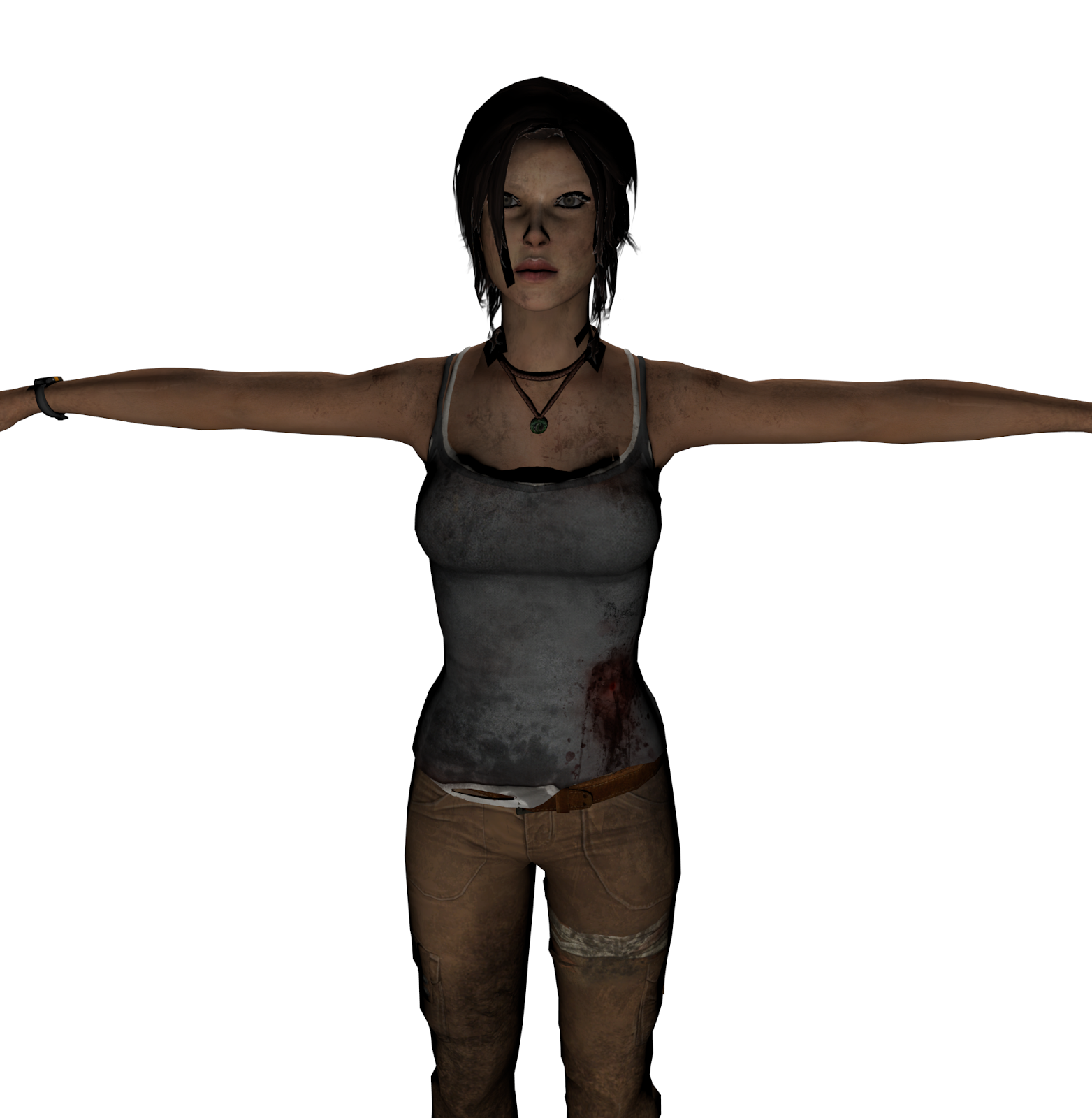 Lady croft 3d adult image