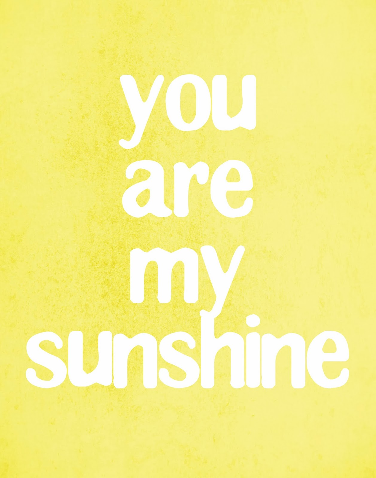 photo relating to You Are My Sunshine Free Printable known as On your own are my sun- Cost-free printable Mimi Lee Printables
