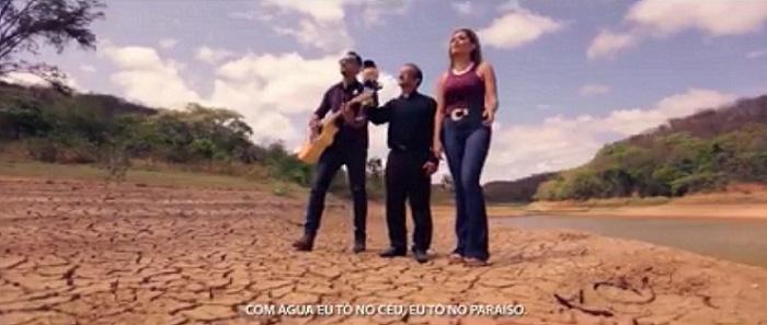 EM DEFESA DA ÁGUA - dupla Kaio Marques e Nataly
