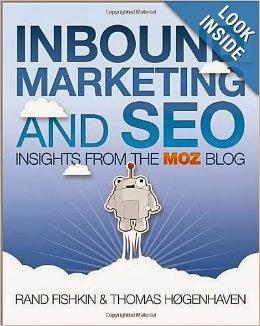 Capa do livro de SEO Inbound Marketing