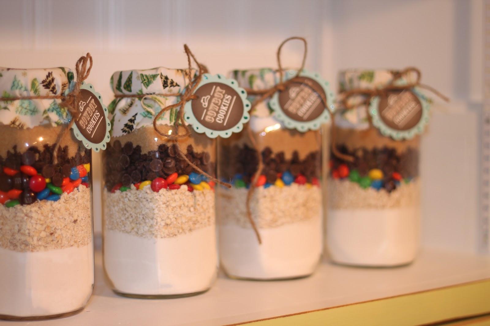 STAMP STITCH CREATE: Cookies/Hot Chocolate in a jar