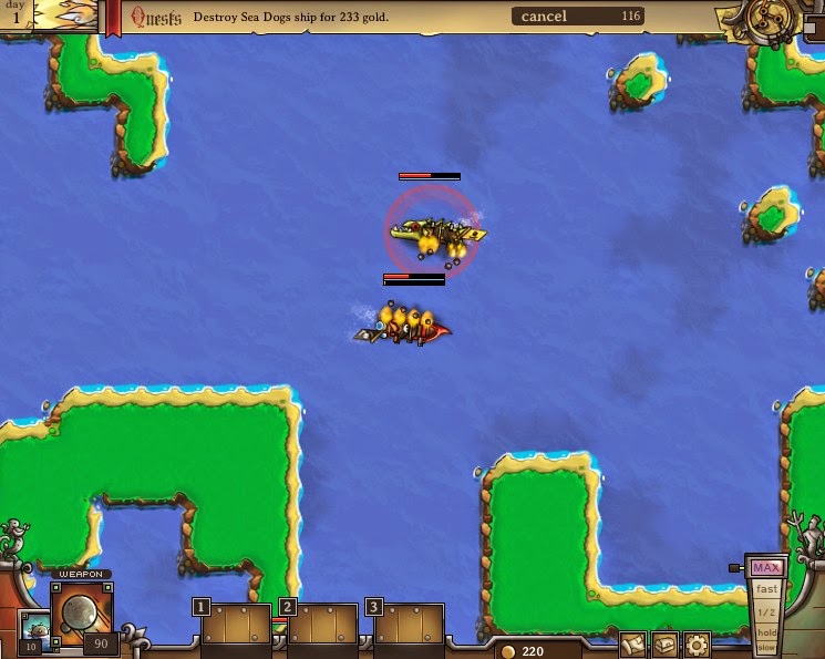 http://www.buzzedgames.com/pirateers-2-game.html