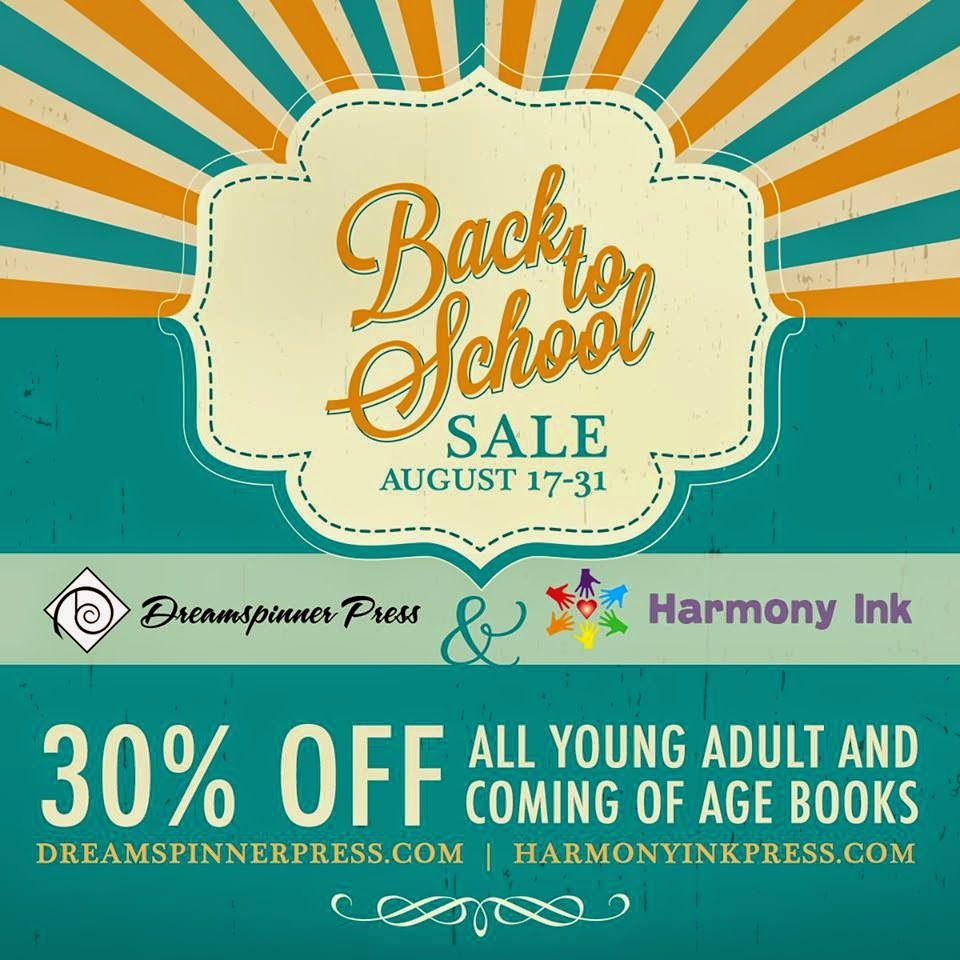 Back to School Sale on YA and Coming of Age titles at DSP!