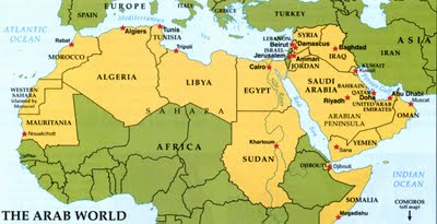 learn north africa map