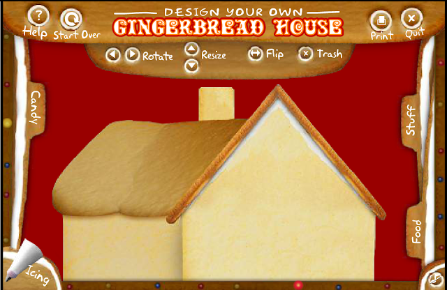 Design Your Own Gingerbread House title=