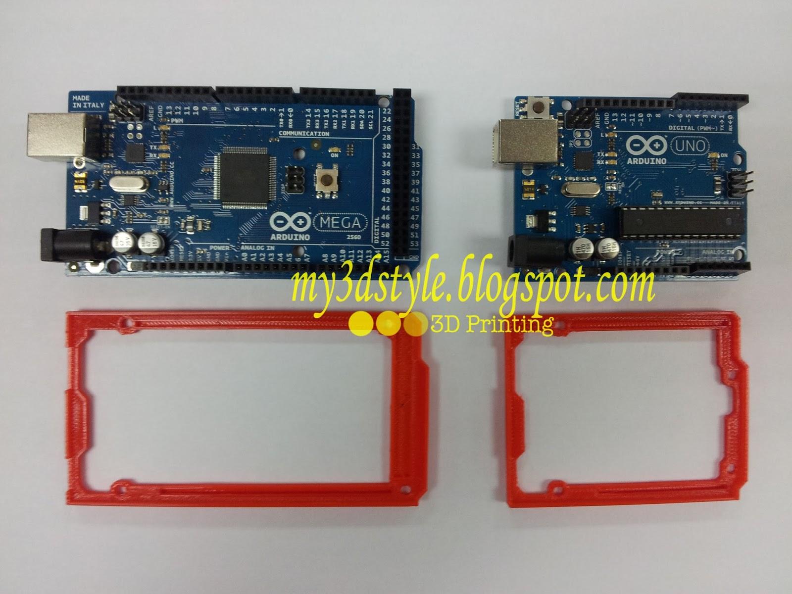 My d style arduino bumper case