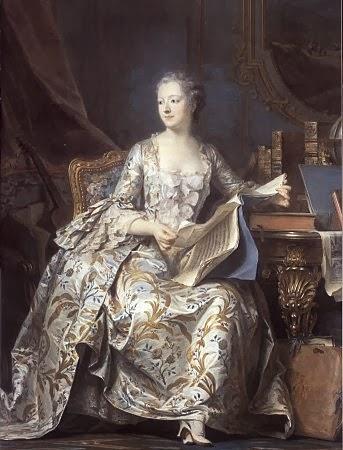 Mme de Pompadour, Louvre