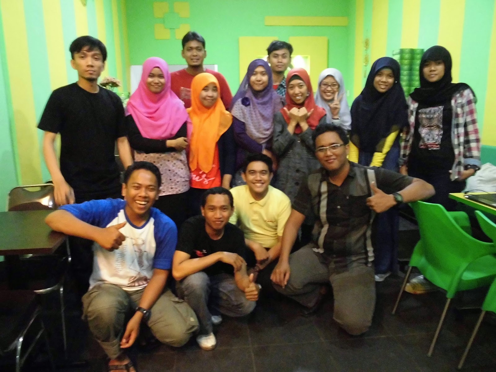 Kudis Awal Tahun Blogger Medan di Maidanii, Pancake Durian Cafe