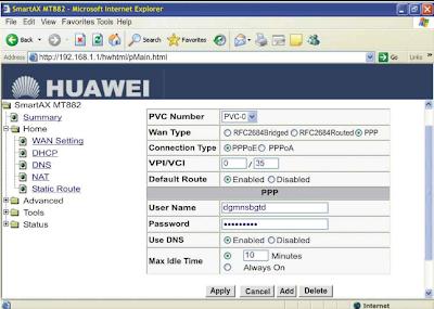 Setup MT880 CPE &  MT882 CPE router