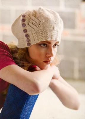 Мк по вязанию беретов для женщин