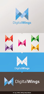 DigitalWings Logo Template