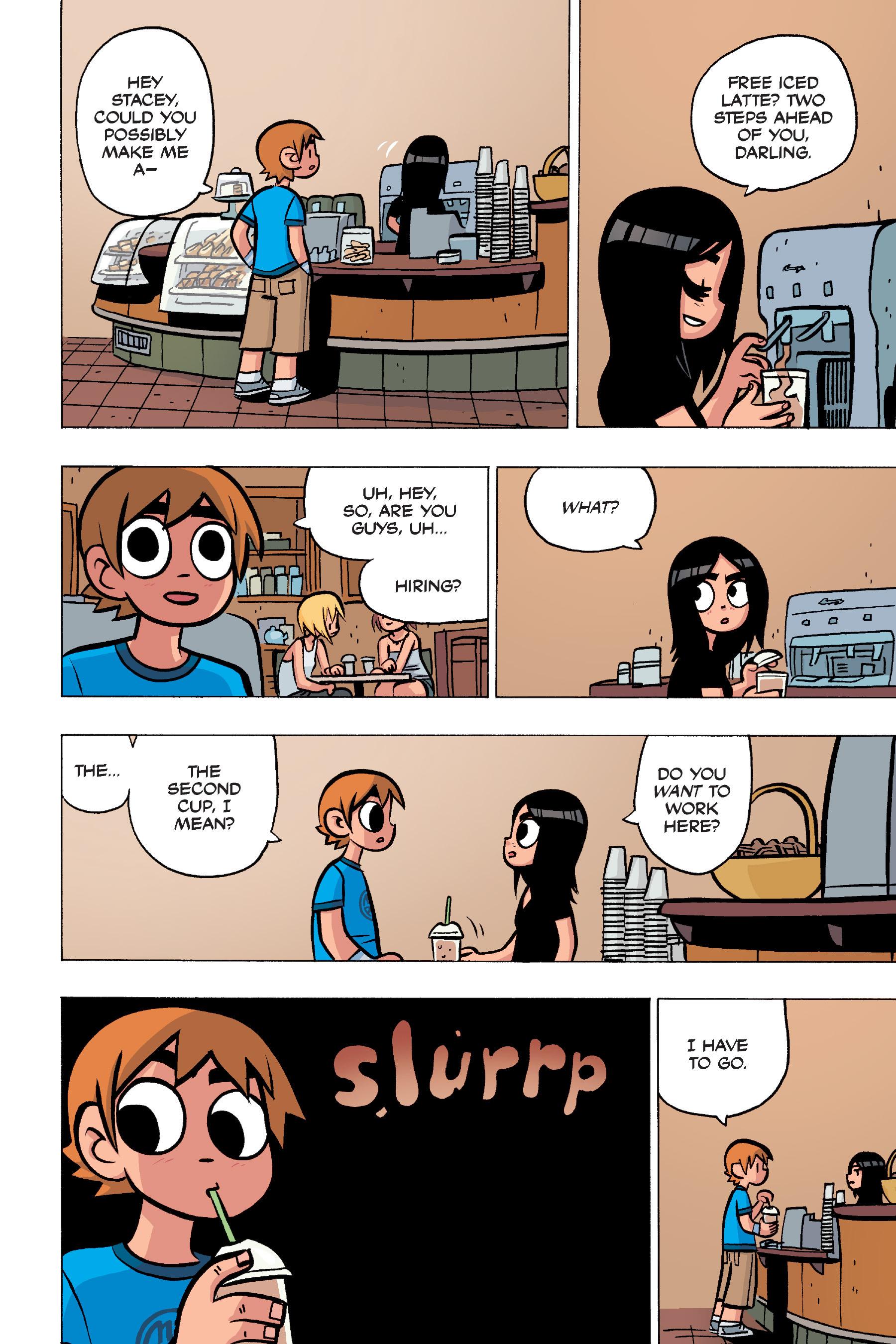 Read online Scott Pilgrim comic -  Issue #4 - 60
