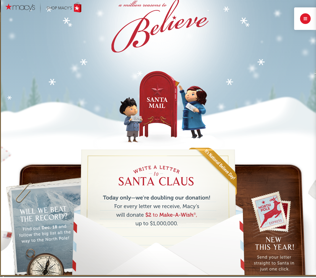Technology Rocks. Seriously.: Write A Letter To Santa And Help The