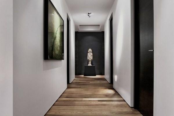 Soluciones para un pasillo largo y estrecho geshab gesti n del habitat interiorismo - Pintar pasillo largo ...