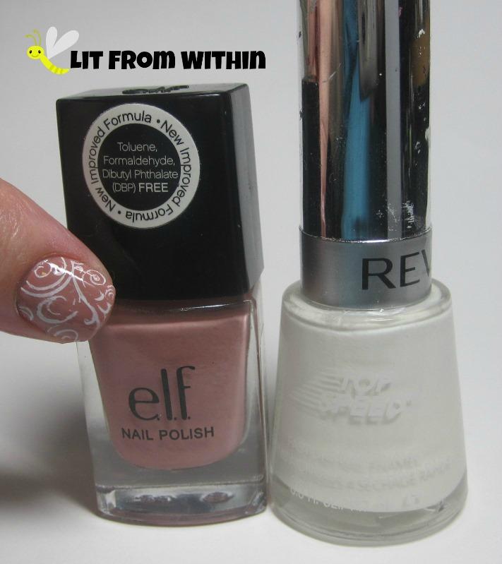 Bottle shot: ELF Nude, and Revlon Spirit