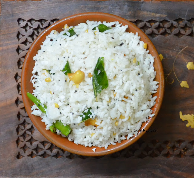 indian traditional dish, flavoured rice, flavored rice, coconut flavor, south indian exotic dish