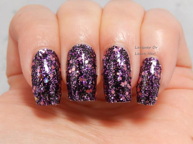 glitter holo nail wrap incoco holiday nail applique