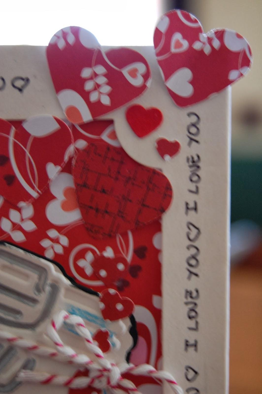 Carte decori e dintorni card al mio amore per san valentino - Decori per san valentino ...