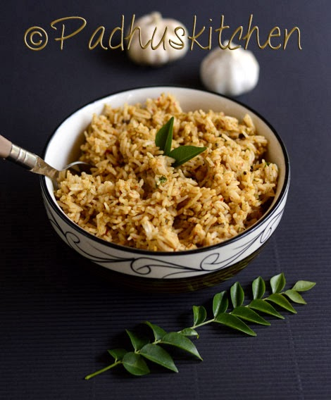 Garlic rice recipe poondu sadam indian easy lunch box recipes garlic rice recipe poondu sadam indian easy lunch box recipes padhuskitchen forumfinder Images