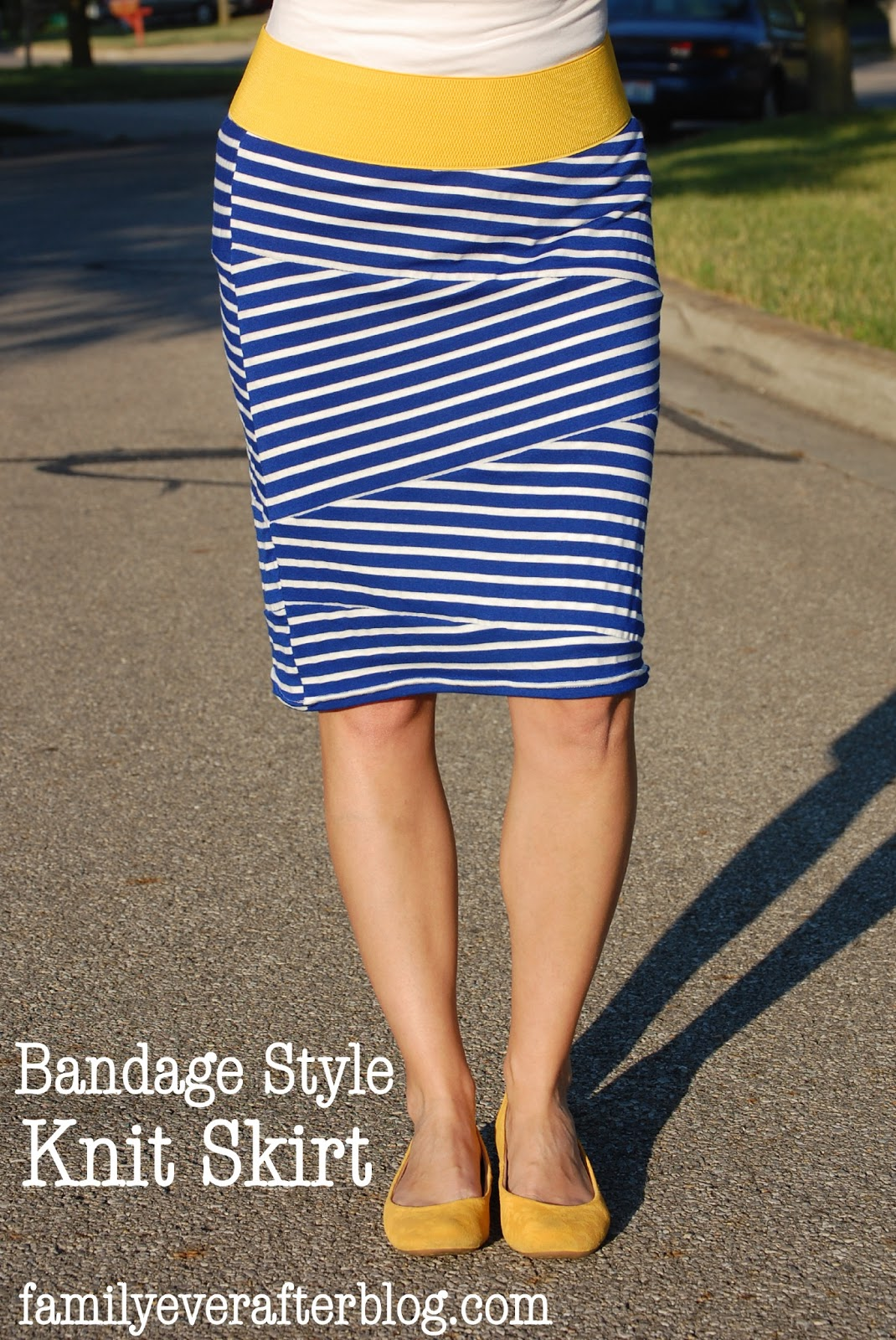 How To Knit A Skirt Pattern Free : Girl Charlee Fabrics: Tutorial Tuesday:: Bandage Style Knit Skirt by Family E...
