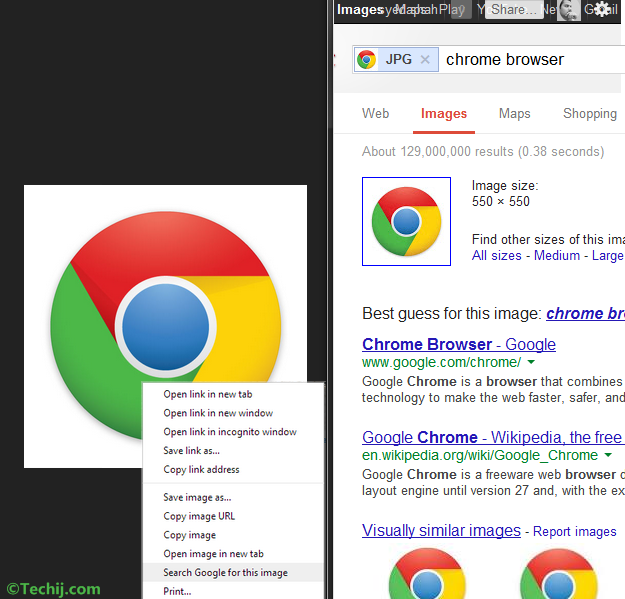 Google Chrome 30 beta Android