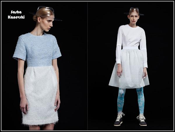 kiev Kyiv fashion designer Sasha Kanevski