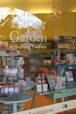 Groupon for 50% off at The Paper Garden