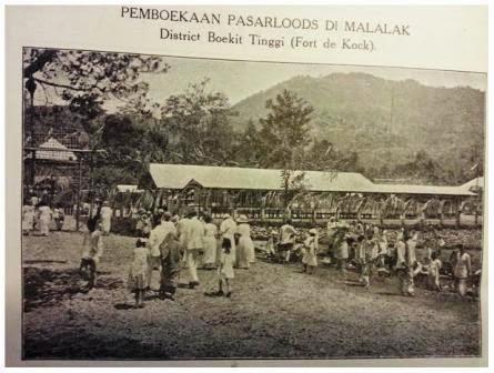 Minang Saisuak #164 - Pembukaan Pasar Baru Malalak (1925)