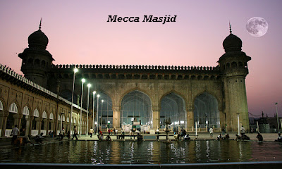 Mecca Masjid the tourist attractions in Hyderabad