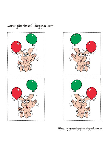 Flash Cards para trabalhar lateralidade