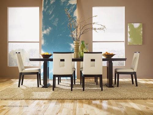 madrid 7 piece european dining room set by haiku designs