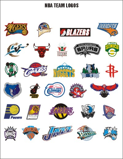 NBA logos 2012