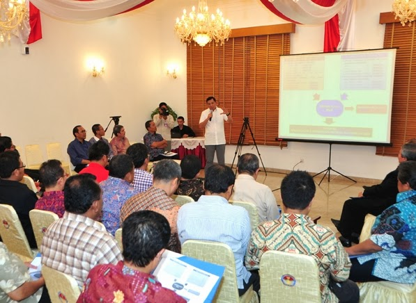 Kemenham Paparkan Akuntabilitas Pengunaan Anggaran Pada MEF tahap 1 Kepada Media