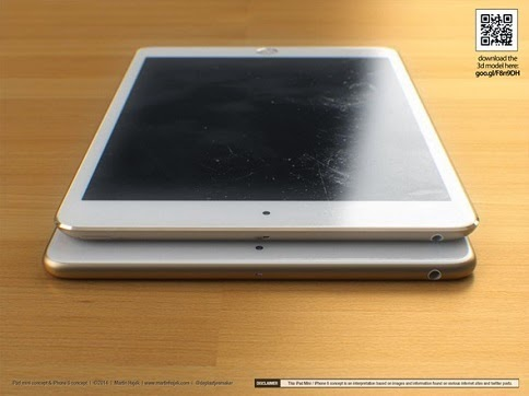 iPad Mini 3 Emas 8