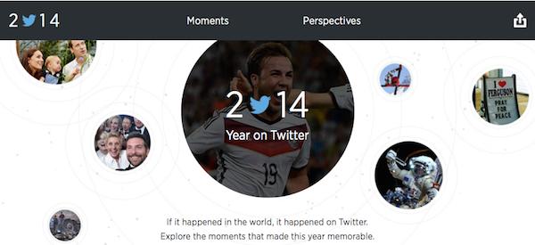 Twitterの2014年(YearOnTwitter)
